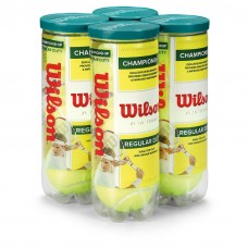 WILSON Championship Regular Duty 4 Pack Tennis Balls