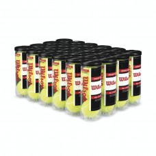 Grand Slam Extra Duty Tennis Balls - Yellow, 24 Cans (72 Balls)